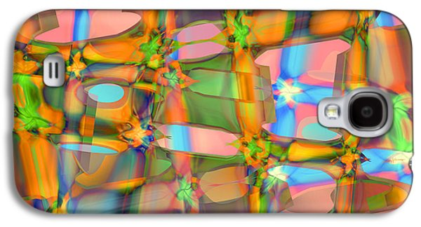 Abstract Digital Paintings Galaxy S4 Cases - C and C Galaxy S4 Case by Anthony Caruso