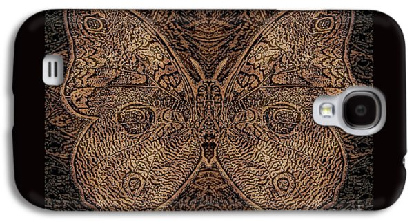 Earth Tones Drawings Galaxy S4 Cases - C Moth L3 Wd Galaxy S4 Case by Dale Crum