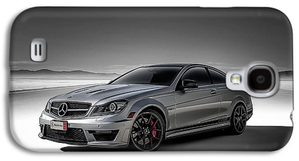 Mountain Road Galaxy S4 Cases - C63 Amg Galaxy S4 Case by Douglas Pittman