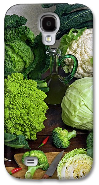 Cabbages -clockwise- Broccoli Galaxy S4 Case by Nico Tondini