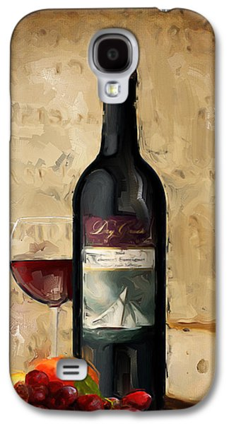 Grape Vineyard Galaxy S4 Cases - Cabernet IV Galaxy S4 Case by Lourry Legarde