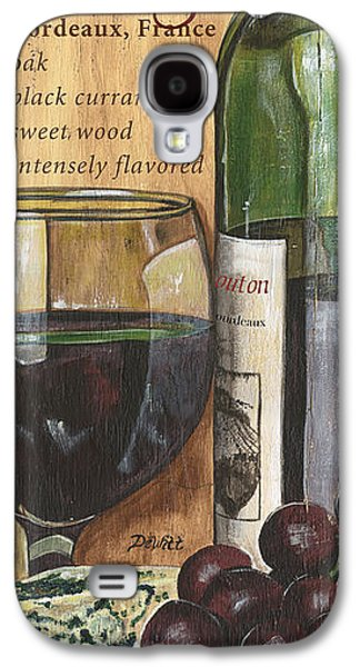 Text Galaxy S4 Cases - Cabernet Sauvignon Galaxy S4 Case by Debbie DeWitt