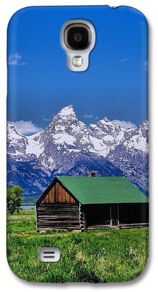 Log Cabin Photographs Galaxy S4 Cases - Cabin in the Mountains Galaxy S4 Case by Dan Sproul