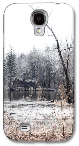 Nature Center Galaxy S4 Cases - Cabin in the Woods Galaxy S4 Case by Julie Palencia