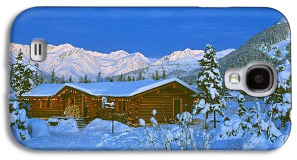 Cabin Mount Alyeska, Alaska, Usa Galaxy S4 Case by Panoramic Images