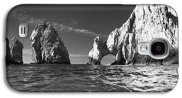 Scenic Galaxy S4 Cases - Cabo in Black and White Galaxy S4 Case by Sebastian Musial