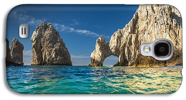 Nature Study Photographs Galaxy S4 Cases - Cabo San Lucas Galaxy S4 Case by Sebastian Musial