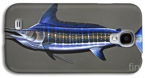 Striped Marlin Galaxy S4 Cases - Cabo Stripes Galaxy S4 Case by Johnny Widmer