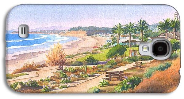 California Beaches Galaxy S4 Cases - Cactus Garden at Powerhouse Beach Galaxy S4 Case by Mary Helmreich
