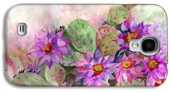 Tasteful Art Galaxy S4 Cases - Cactus Garden Galaxy S4 Case by Neela Pushparaj