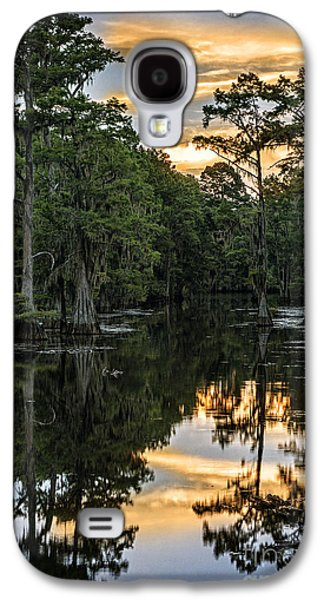 Tamyra Ayles Galaxy S4 Cases - Sunset on Caddo Lake II Galaxy S4 Case by Tamyra Ayles