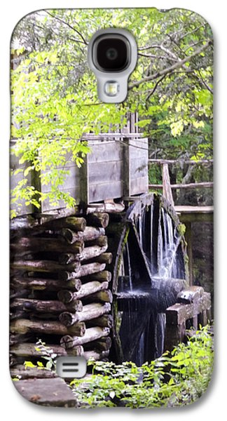 Tennessee Historic Site Galaxy S4 Cases - Cades Cove Cable Mill Water Wheel Galaxy S4 Case by Cynthia Woods
