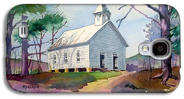 Cades Cove Church Galaxy S4 Case by Spencer Meagher