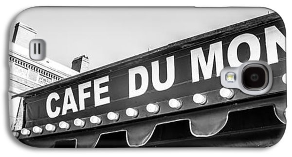 Historical Pictures Galaxy S4 Cases - Cafe Du Monde Panoramic Picture Galaxy S4 Case by Paul Velgos