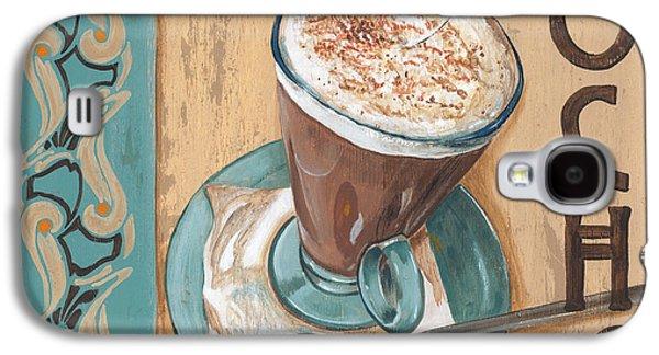 Espresso Galaxy S4 Cases - Cafe Nouveau 1 Galaxy S4 Case by Debbie DeWitt