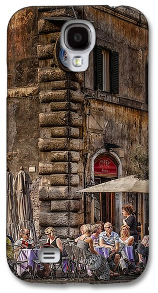 Wine Scene Galaxy S4 Cases - Cafe Roma Galaxy S4 Case by Erik Brede