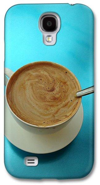 Anna Villarreal Garbis Galaxy S4 Cases - Caffe Americano Galaxy S4 Case by Anna Villarreal Garbis