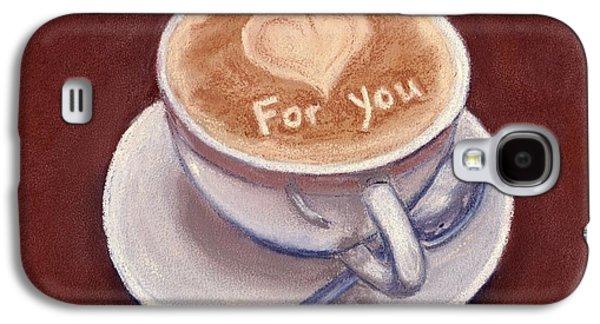 Anastasiya Malakhova Galaxy S4 Cases - Caffe Latte Galaxy S4 Case by Anastasiya Malakhova