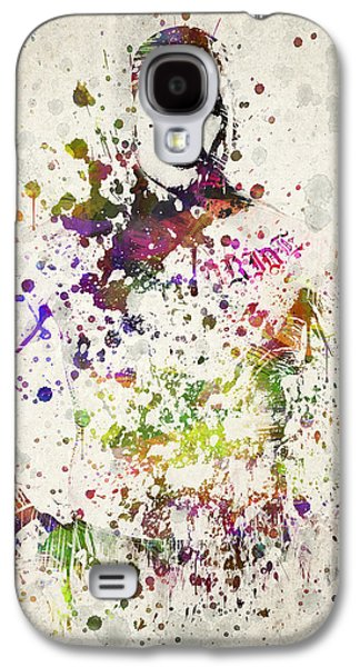 Athlete Digital Galaxy S4 Cases - Cain Velasquez Galaxy S4 Case by Aged Pixel