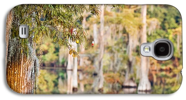 Cypress Swamp Galaxy S4 Cases - Cajun Ornaments Galaxy S4 Case by Scott Pellegrin