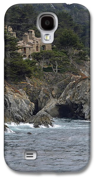 Point Lobos State Galaxy S4 Cases - California Cliffside Ocean House Galaxy S4 Case by Bruce Gourley