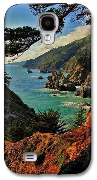 California Coastline Galaxy S4 Case by Benjamin Yeager