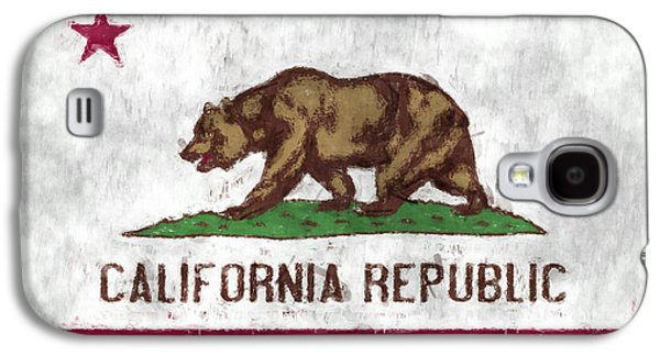 California Flag Galaxy S4 Case by World Art Prints And Designs