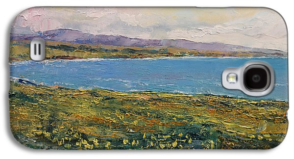 Big Sur California Galaxy S4 Cases - California Poppies Galaxy S4 Case by Michael Creese