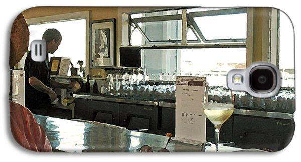 Women Tasting Wine Galaxy S4 Cases - California Wine Tasting Galaxy S4 Case by Connie Fox