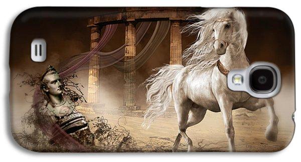 Emperor Galaxy S4 Cases - Caligulas Horse Galaxy S4 Case by Shanina Conway