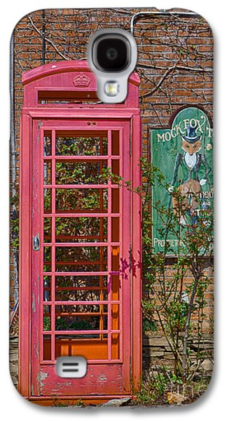 Kaypickens.com Galaxy S4 Cases - Call Me - Abandoned Phone Booth Galaxy S4 Case by Kay Pickens