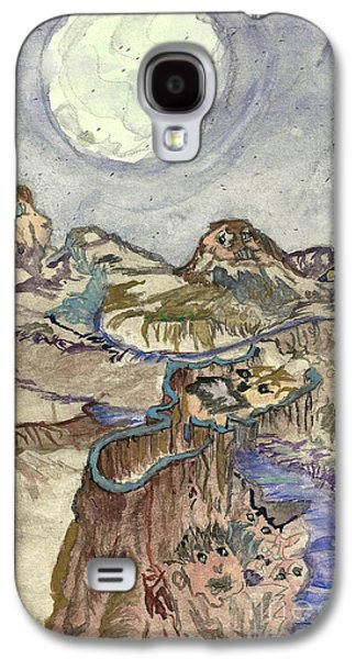 Angela Pelfrey Galaxy S4 Cases - Call of the night Galaxy S4 Case by Angela Pelfrey