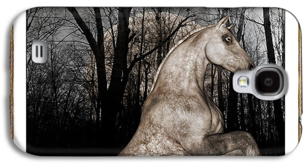 Ghost Story Galaxy S4 Cases - Call of the Night Galaxy S4 Case by Betsy A  Cutler
