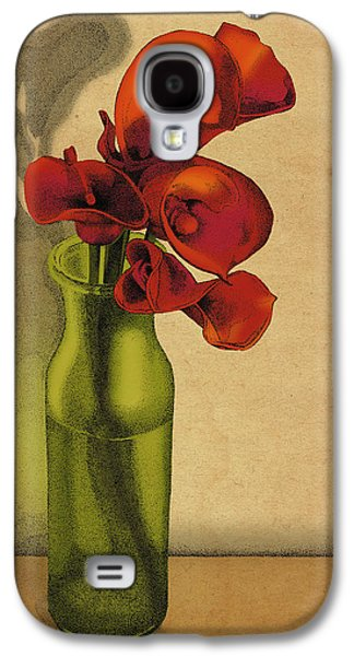 Calla Lilly Galaxy S4 Cases - Calla Lilies in Bloom Galaxy S4 Case by Meg Shearer