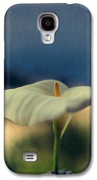 Calla Lilly Galaxy S4 Cases - Calla Lily Galaxy S4 Case by Marco Oliveira