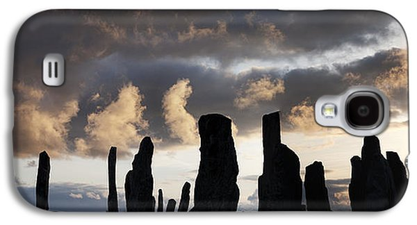 Monolith Galaxy S4 Cases - Callanish Standing Stones Galaxy S4 Case by Tim Gainey