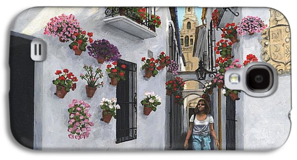 Alley Galaxy S4 Cases - Calle de las Flores Cordoba Galaxy S4 Case by MGL Meiklejohn Graphics Licensing