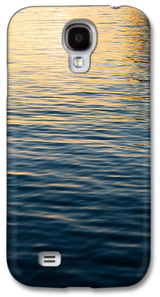 Sunset Abstract Galaxy S4 Cases - Calm Waters Galaxy S4 Case by Parker Cunningham