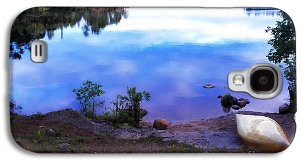 Bwcaw Galaxy S4 Cases - Campsite Serenity Galaxy S4 Case by Thomas R Fletcher