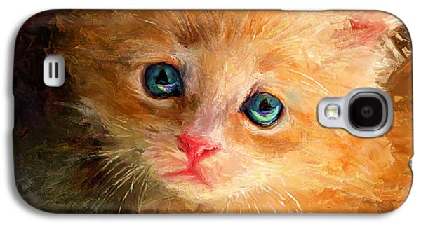 House Pet Digital Art Galaxy S4 Cases - can I trust you Galaxy S4 Case by Yury Malkov
