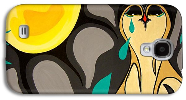 Canadian Heritage Paintings Galaxy S4 Cases - Can You Hear Me Galaxy S4 Case by Krystle Retieffe