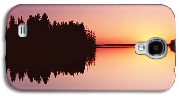 Surreal Landscape Galaxy S4 Cases - Canada, Alberta, Elk Island National Galaxy S4 Case by Panoramic Images