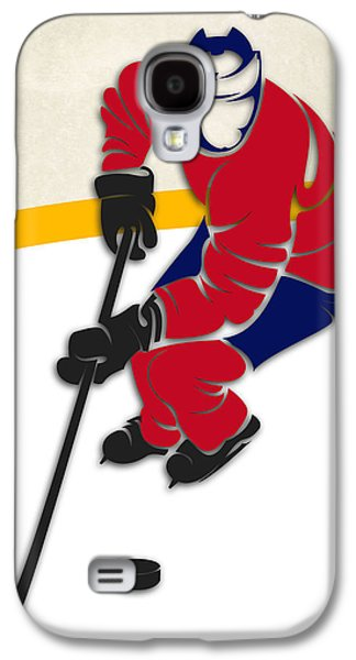 Montreal Canadiens Galaxy S4 Cases - Canadiens Hockey Rink Galaxy S4 Case by Joe Hamilton