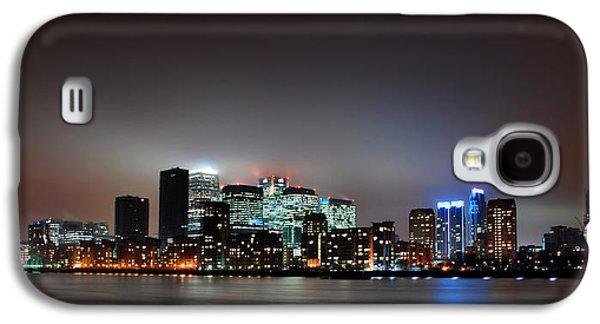 Landmarks Photographs Galaxy S4 Cases - London Skyline Galaxy S4 Case by Mark Rogan
