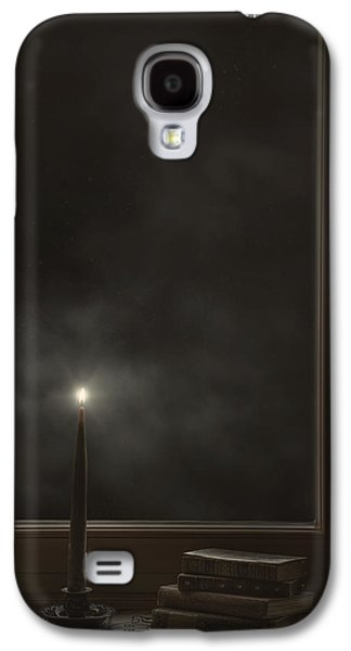 Ledge Galaxy S4 Cases - Candle Light Galaxy S4 Case by Joana Kruse
