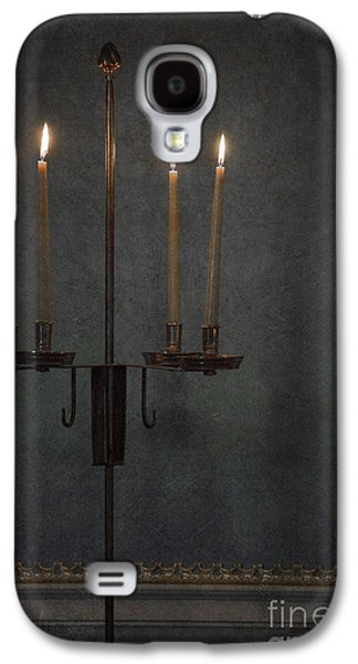 Candle Stand Galaxy S4 Cases - Candles In The Dark Galaxy S4 Case by Margie Hurwich
