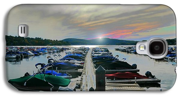 Connecticut Landscape Galaxy S4 Cases - Candlewood Lake Galaxy S4 Case by Diana Angstadt
