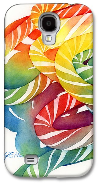 Wishes Galaxy S4 Cases - Candy Canes Galaxy S4 Case by Hailey E Herrera