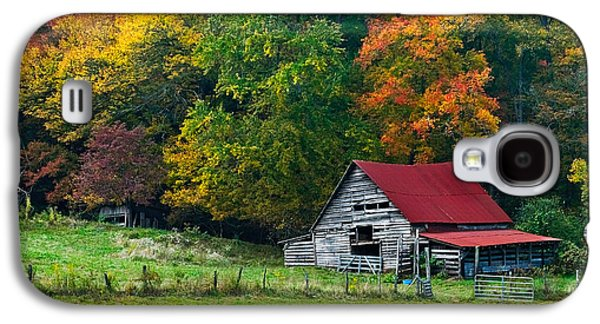 Old Barns Galaxy S4 Cases - Candy Mountain Galaxy S4 Case by Debra and Dave Vanderlaan