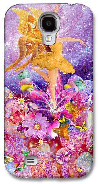 Alixandra Mullins Galaxy S4 Cases - Candy Sugarplum Fairy Galaxy S4 Case by Alixandra Mullins